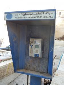 Palestine Telecommunications, aufgenommen in Bethlehem, November 2011. Fotograf: M. Hölscher