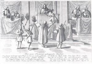 Der zum Doctorat gelangende Student (Johann Georg Puschner [Public domain], via Wikimedia Commons)