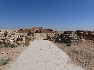 Das Wüstenschloss Qasr Mschatta