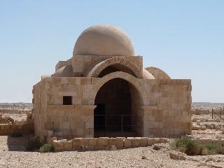 Hammam al-Sarah ist ein Bad, das wohl zum Qasr al-Hallabat gehörte